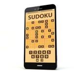 Telefone da aplicação do jogo Imagens de Stock