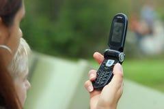 Telefone da câmera Fotografia de Stock