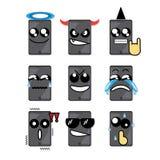 Telefone da cara do ícone Imagem de Stock Royalty Free