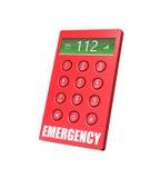 Telefone da emergência ilustração do vetor