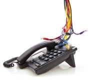 Telefone da rede do IP Foto de Stock