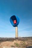 Telefone da vila Imagens de Stock