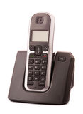 Telefone de casa sem corda isolado foto de stock royalty free