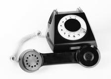 Telefone de Dlack Imagem de Stock Royalty Free