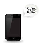telefone de 3G Smart Fotos de Stock Royalty Free
