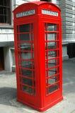 Telefone de Londres fotografia de stock