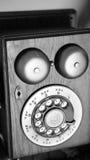 Telefone de madeira Fotos de Stock