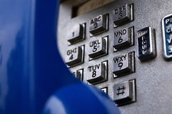 Telefone de pagamento Fotos de Stock