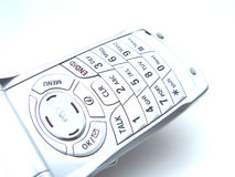 Telefone de pilha abstrato foto de stock