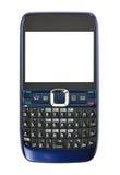 Telefone de pilha com tela em branco Foto de Stock Royalty Free