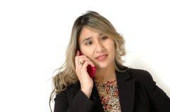 Telefone de pilha cor-de-rosa Imagens de Stock