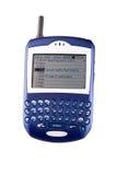 Telefone de pilha da amora-preta Foto de Stock Royalty Free