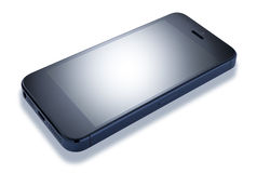 Telefone de pilha de Smartphone Imagem de Stock Royalty Free