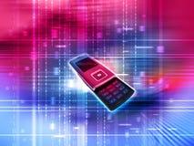 Telefone de pilha móvel Imagens de Stock Royalty Free