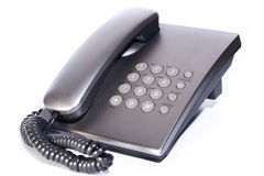 Telefone de prata Fotos de Stock