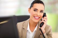 Telefone do operador de painel de comando Imagens de Stock Royalty Free