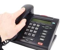 Telefone do escritório Fotografia de Stock Royalty Free