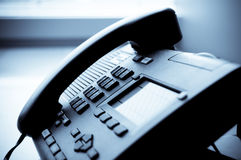 Telefone do escritório fotos de stock royalty free