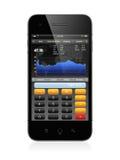 Telefone do negócio Fotografia de Stock