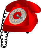 Telefone do seletor Imagens de Stock Royalty Free