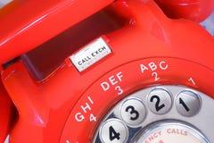Telefone do seletor giratório da troca da chamada foto de stock royalty free