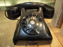 Telefone do vintage Foto de Stock Royalty Free