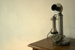 Telefone do vintage Fotografia de Stock Royalty Free