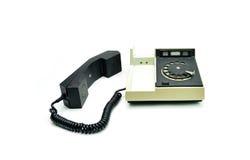 Telefone do vintage autônomo imagens de stock royalty free