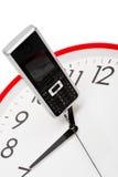 Telefone e pulso de disparo Imagem de Stock Royalty Free