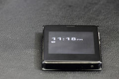 Telefone e tempo de tela táctil Fotos de Stock