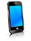 Telefone esperto 3D da pilha Imagem de Stock