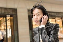 Mulher madura asiática imagens de stock royalty free