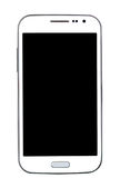 Telefone esperto isolado no fundo branco fotografia de stock royalty free