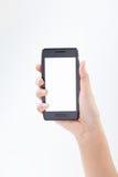 Telefone esperto móvel à disposição 1 imagem de stock royalty free