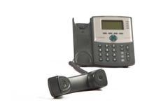 Telefone fora do gancho Imagens de Stock