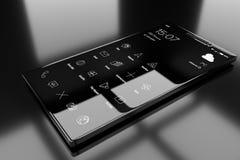 Telefone genérico do androide ilustração royalty free
