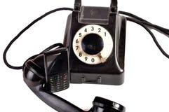 Telefone gestern und heute Stockfotos