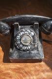 Telefone giratório antigo Foto de Stock