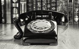 Telefone giratório do estilo velho Fotografia de Stock Royalty Free