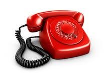 Telefone giratório do vintage Fotografia de Stock Royalty Free