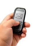Telefone móvel à disposicão Imagem de Stock