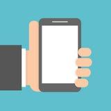 Telefone móvel à disposicão imagens de stock royalty free