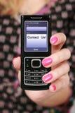 Telefone móvel. fotos de stock royalty free
