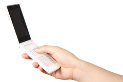 Telefone móvel clássico Imagem de Stock Royalty Free