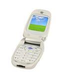 Telefone móvel com paisagem #2 fotografia de stock royalty free