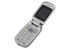 Telefone móvel com trajeto de grampeamento. Imagens de Stock Royalty Free