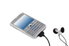 Telefone móvel de Multimedial Imagem de Stock Royalty Free