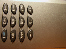 Telefone móvel - detalhe 2 imagem de stock royalty free