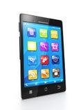 Telefone móvel e móbil Imagem de Stock Royalty Free
