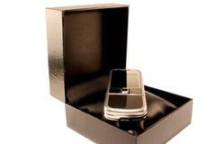 Telefone móvel em uma caixa Foto de Stock